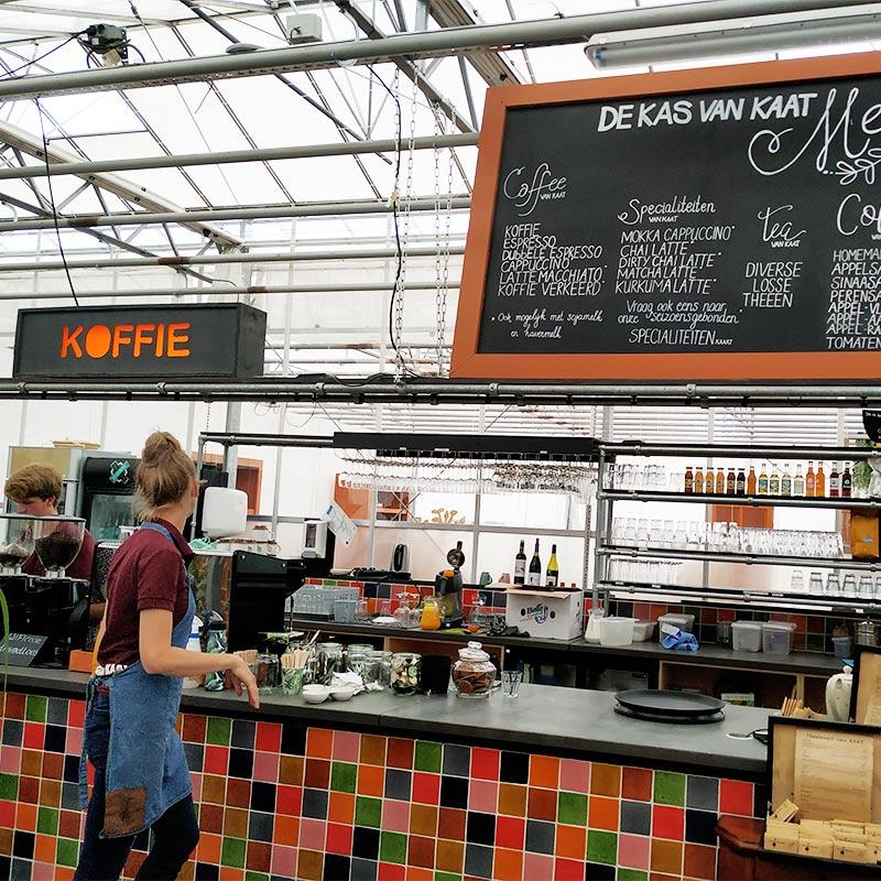 Koffie bar - de Kas van KAAT